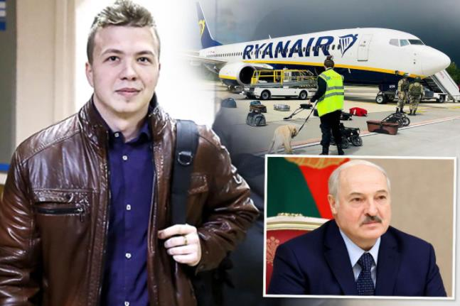 Thetimes: Anger after Ryanair flight 'hijacked' by Lukashenko to arrest dissident